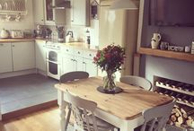 shabby chic kitchens etc