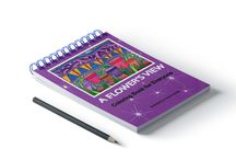 Spiral Bound Coloring Books