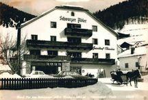 Zeitreise im Hotel Schwarzer Adler / Die Zeitreise vom Hotel Schwarzer Adler in Nauders vom einfachen Gasthof zum gemütlichen 4 Sterne Hotel