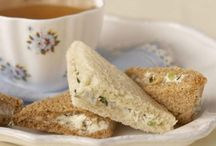 Afternoon Tea Savories / Delicious recipes to host afternoon tea at home.
