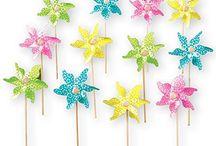 Pinwheel Birthday Party Ideas