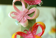 Hair accessories for girls / Handmade hair clips and hair clip holders