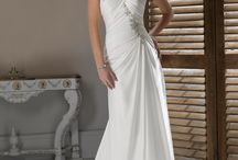 Straplees Wedding Dress