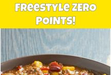 Zero points taco soup