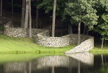Andy Goldsworthy and like minds / Beautiful works with the land