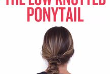 Hair to-do's