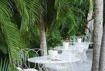 wrought iron garden sets