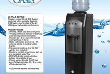 Ultra S Bottle Cooler / Pressure Vessel Direct Chill System combines with a specially designed CO2/water mixer for state of the art chilling and carbonation performance