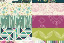 Joie de Vivre pattern collection by Bari J.