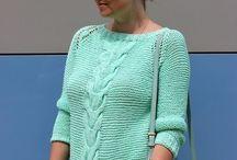 Вязаная одежда женская разная