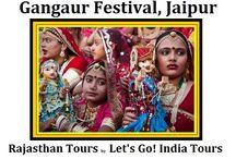Gangaur Festival, Jaipur / Read , like and share blog on Gangaur Festival, Jaipur  http://letsgoindiatours.blogspot.in/2016/04/gangaur-festival-jaipur.html