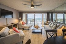 Style We Like / We picked out some of our favorite Gulf Coast beach vacation rentals that we think just about everyone would like and find comfortable. Some are casual and cozy while others are a little more luxurious but not top-of-the-line ultra luxurious. Check out our other decor-themed boards including Bright and Beachy, Coastal Chic, Luxury 5-Star Rentals, and Island Style.