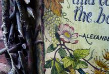Entrance to The Magic Garden / A hand painted sign to tell the visitor what inspired the creation of The Magic Garden in Wolverhampton
