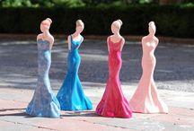 Figurki z różowej porcelany / Figurines made from pink porcelain / Pierwsze w Polsce figurki z różowej porcelany #pinkporcelain #różowaporcelana #cmielow #ćmielów #figurki #figurines