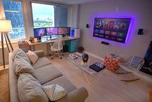 setup room