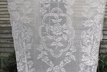 In love with lace / Lace in the bedroom for linens and draperies