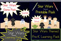 Theme - star wars / Star Wars themed fun and educational activities for kids