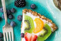 Grk yogurt fruit pie / Grk yogurt fruit pie