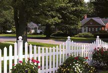 Pretty Fences & Cottage Dreams