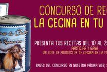 Concurso de Recetas: La Cecina en tu Cocina! / Recetas con cecina como producto estrella. Una de ellas ganará un magnífico lote de cecina.