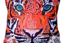 Animal Print  / Home decorating ideas with an animalistic twist!