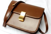 Chic Box Bag Cowskin Leather