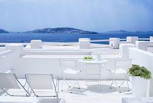 Rocabella Mykonos Hotel / Rocabella Mykonos Art Hotel & Spa, a luxury boutique hotel just north of Mykonos Town.