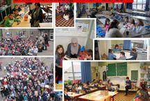 Grote Voorleesdag 2014 / Foto's van alle scholen , klassen en ouders die meededen aan de Grote Voorleesdag 2014