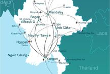 Myanmar Travel / Some travel inspiration for a trip to Myanmar in Southeast Asia