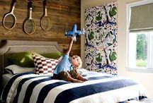 Boy Rooms - For Wesley Upstairs / by Stephanie Valek