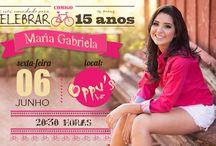 Convite 15anos / by Bruna das Neves