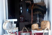 Shop windows Dara bags / Naše nejoblíbenější výlohy
