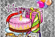 Happy Birthday / by Gilda Hill