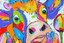 пастель рисунки
