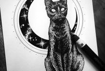 Illustrations - ink / Illustrationen mit Tusche, Feder und feinen Linien