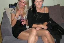 Pantyhose With Nylon Feet / Candid and Amateur Women In Sexy Pantyhose With Nylon Feet