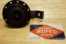 Detroit Moped Works eBay Listings / We sell a lot of rare and vintage parts and accessories online. Here's a sample of what you can expect to find from us!