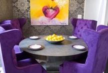 Color splash. David Bromstad my favorite home designer