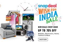 Independence Day #Deals & #Coupons / Get all the best Independence Day offers from Amazon, Flipkart, Snapdeal or more.