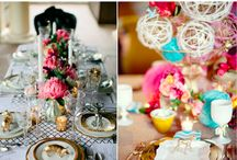Decorations / Tables, ceiling etc / by Hannah Ross