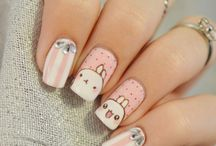 Nail art - Cute / animal
