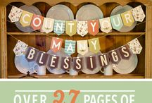 Thanksgiving and Thankful Ideas! / by Rennee Pitts