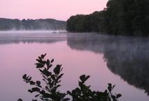 Sunrises on Manchaug Pond