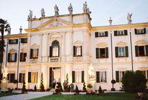 Wedding Venues Italia / Great wedding locations, in Italia... all the good places to start a dream come true.