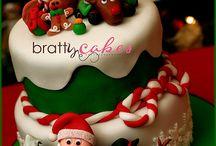 Christmas cake ♥