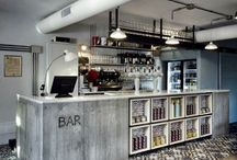 Cafe design love / Cafe and bars interior design inspiration