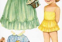 littles paper dolls