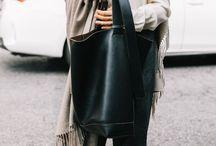 Winter hand bags