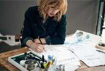 It's what I do / GAAFISCH Freelance illustrator / fashion print designer / graphic designer