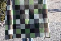 Quilts Wool and Felted Wool